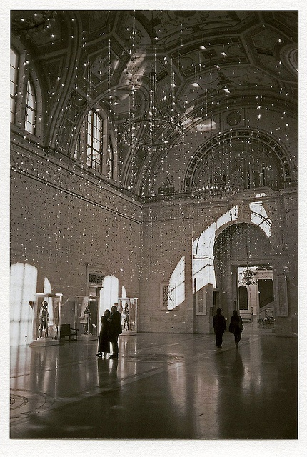 The great hall at the dia worked here in the early 1980 s do you