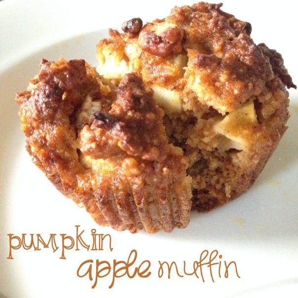 paleo apple pumpkin muffins | Food | Pinterest