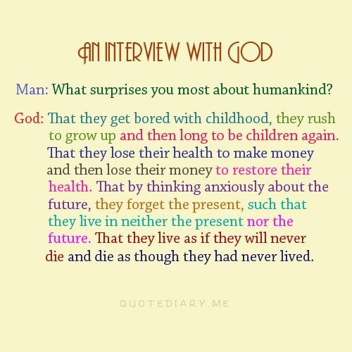 interview with god inspirational pinterest