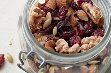 Cranberry-Pumpkin Seed Trail Mix | EVERYTHING FOOD | Pinterest
