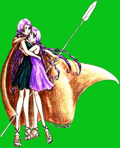 f8fd867a9eab7264561a475f10882d0f jpgSailor Lethe And Sailor Mnemosyne