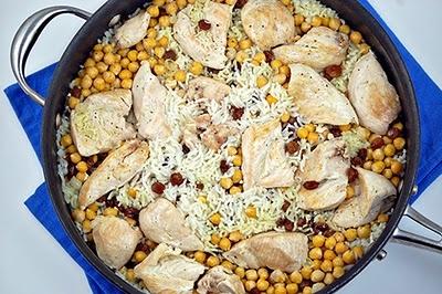 Chickpea Chicken Pilaf | Healthy stuff | Pinterest