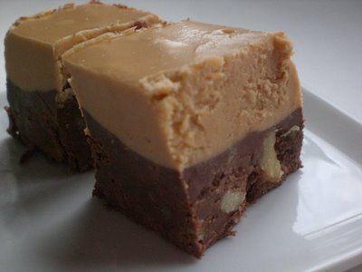 ... butterscotch and chocolate walnut fudge...YUM...super easy to make
