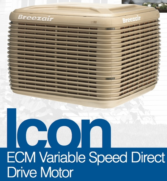 Breezair Evaporative Coolers : Breezair icon at fireplace warehouse hvac pinterest