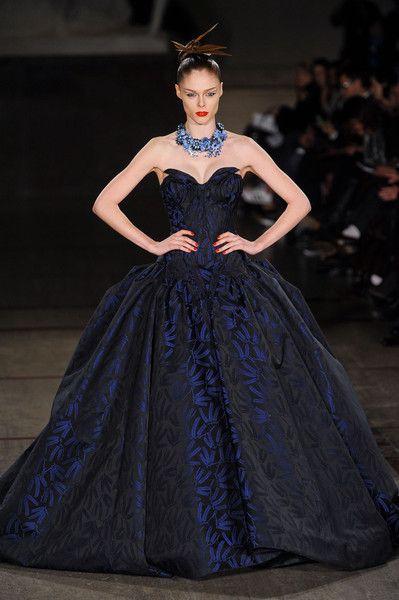 #Zac Posen F/W 2012, New York Fashion Week