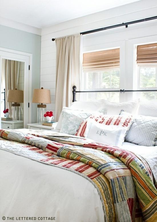 Iron Bed Under Window Home Bedroom Pinterest