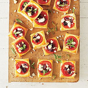 puff pastry tart greek puff pastry appetizers with kalamata olives ...