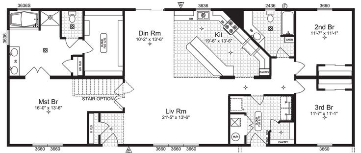 Pin by kathryn pederson on diy and crafts pinterest for 4 bedroom rambler floor plans