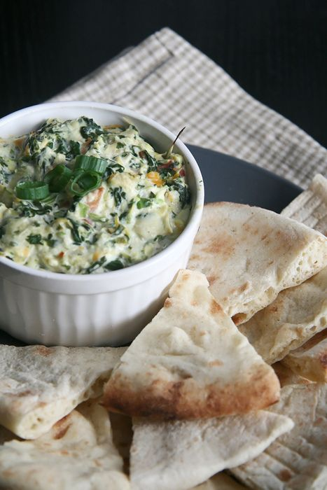 Hot spinach and Artichoke dip | Undercover Head Chef | Pinterest