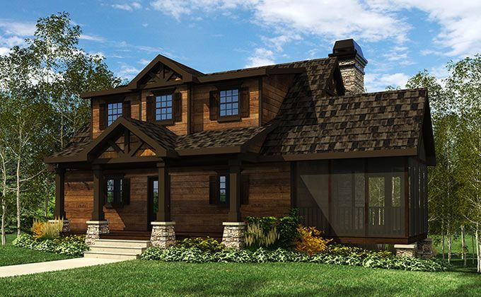 18 best simple small lake cottage house plans ideas House plans for cottages
