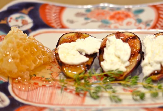 Grilled figs with goat cheese and honey | Putney Farm Garden & Orchar ...