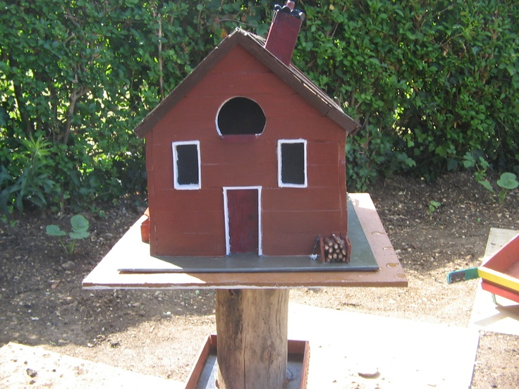 homemade bird house everything pinterest