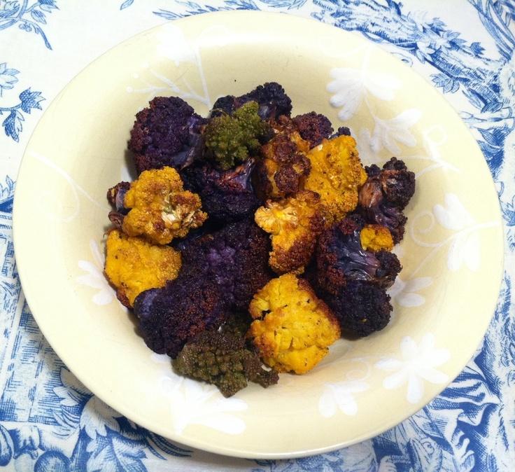 Crispy Roasted Cauliflower | wine & dine | Pinterest