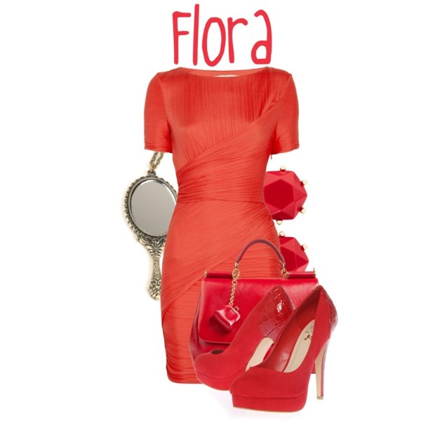 """Flora"" by jami1990 on Polyvore"