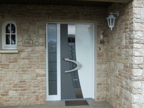 porte dentrée design contemporain  décoration intérieure ...