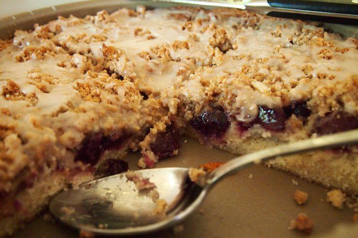 Cherry Almond Cake So tasty!