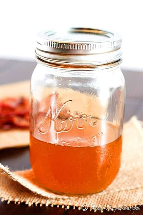 Bacon Infused Bourbon | To try recipes | Pinterest