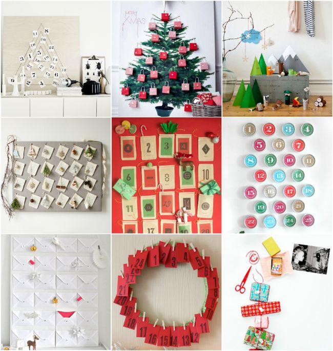 Advent Calendar Ideas Diy : Diy advent calendar ideas it s the holiday season