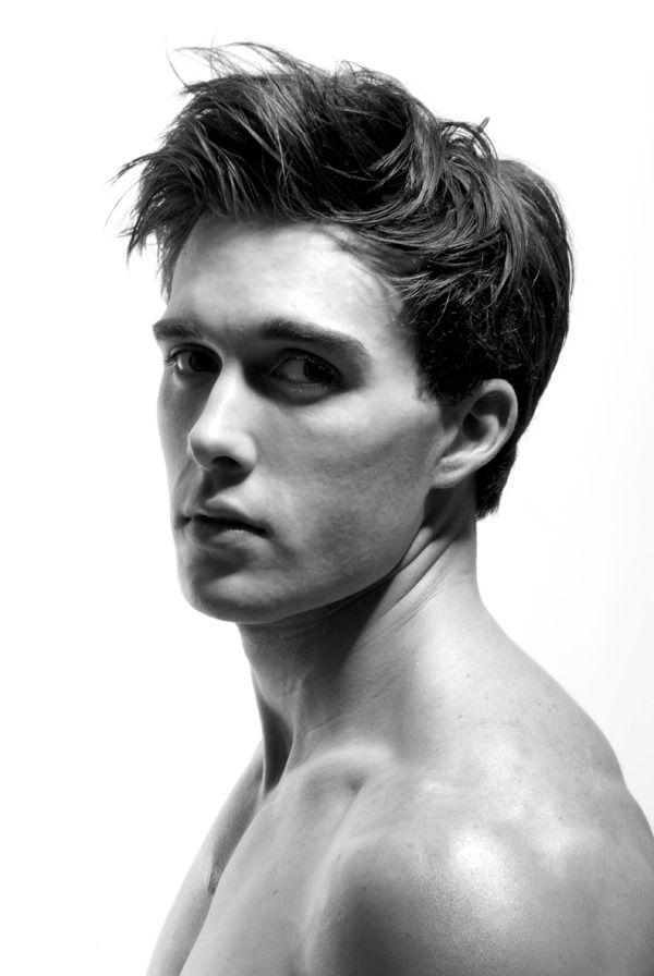 Fitness model robert walter men photos faces monochrome pint