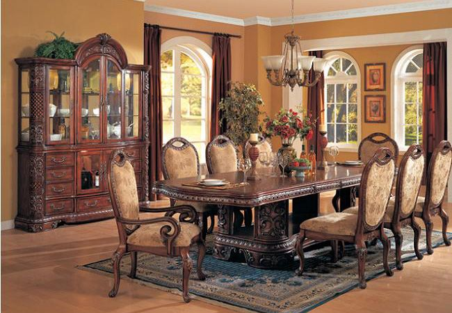 Pin by terry hauzer on victorian dining rooms pinterest - Traditional dining room tables ...