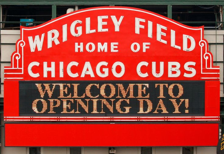 Cubs Opening Day in one month!