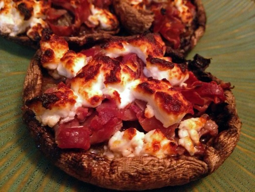 with goat cheese and prosciutto recipe on food52 goat cheese stuffed ...