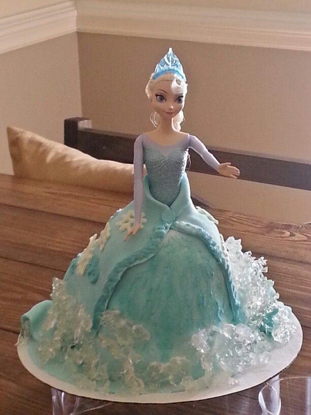 Elsa Doll Cake Design Bjaydev for