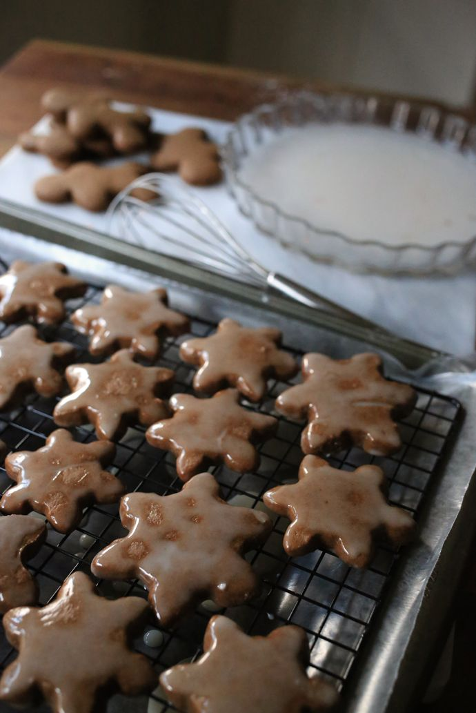 Gingerbread Cookies with Citrus Glaze Recipe