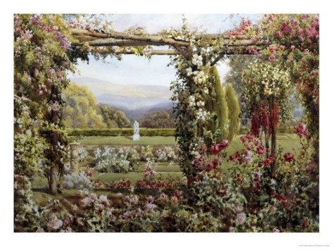 A Glorious Rose Garden, by Robert Atkinson