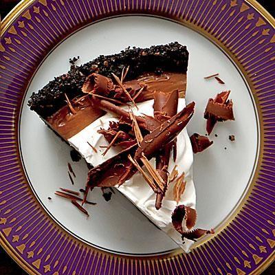 Mocha-Espresso Cream Pie | This pie is a chocolate-lover's dream. A ...