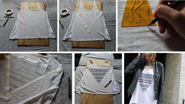 Как сделать с простых вещей модные вещи
