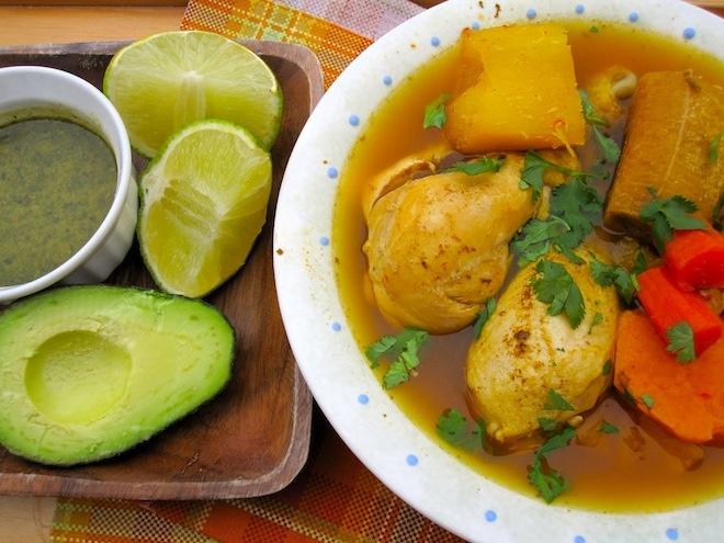 Colombian Chicken Soup from Los Llanos) | Cocina Latinoamericana | P ...