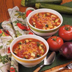 ... ago and found it online again! So easy and good! Zucchini Tomato Soup