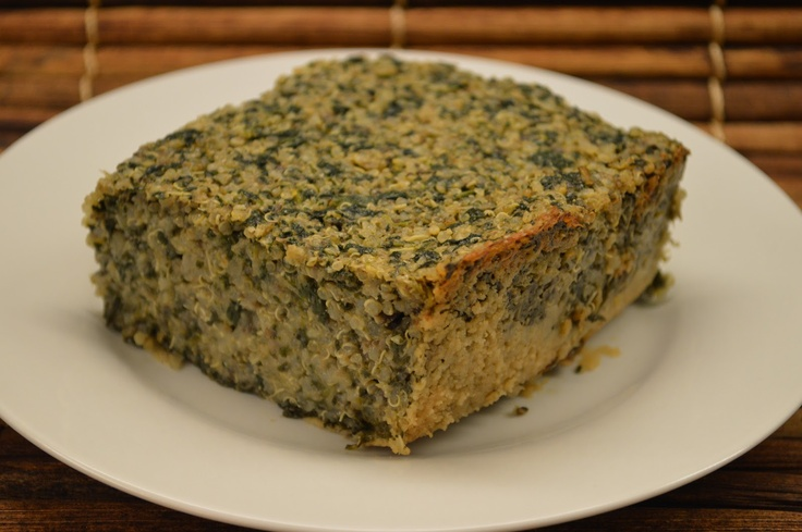Quinoa Spinach Casserole | Healthy Eating and Fun Food | Pinterest