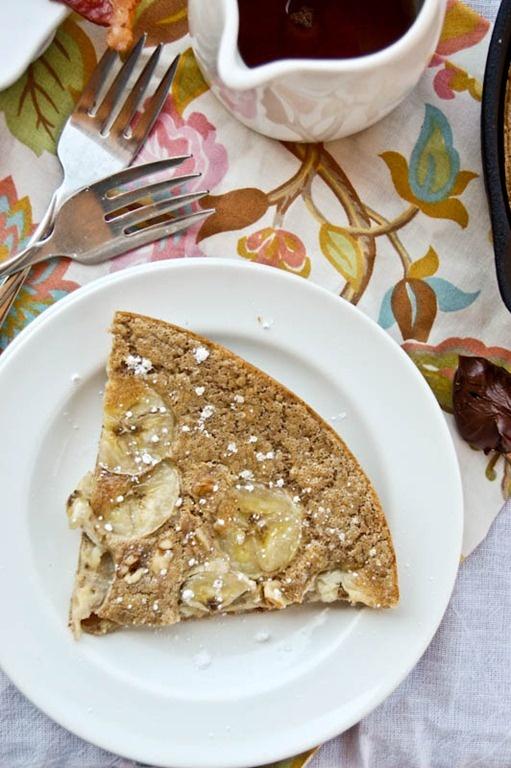 Baked Whole Wheat Pancake-5   Breakfast Ideas   Pinterest