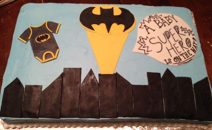batman baby shower sheet cake melissa 39 s cakes pinterest