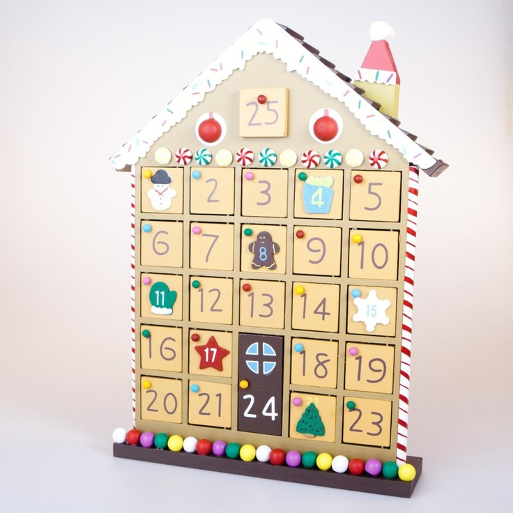 Wooden Advent CalendarsNew Calendar Template Site | New Calendar ...