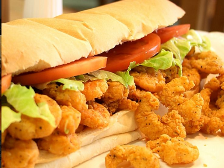 Shrimp Po Boy | Sandwiches | Pinterest