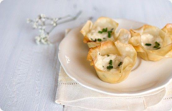 Baked crab rangoon | [Appetizers] | Pinterest