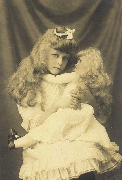 Girl & Doll