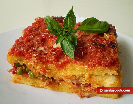 Polenta Pasticciata - Recipe Included. | Delicious Food | Pinterest