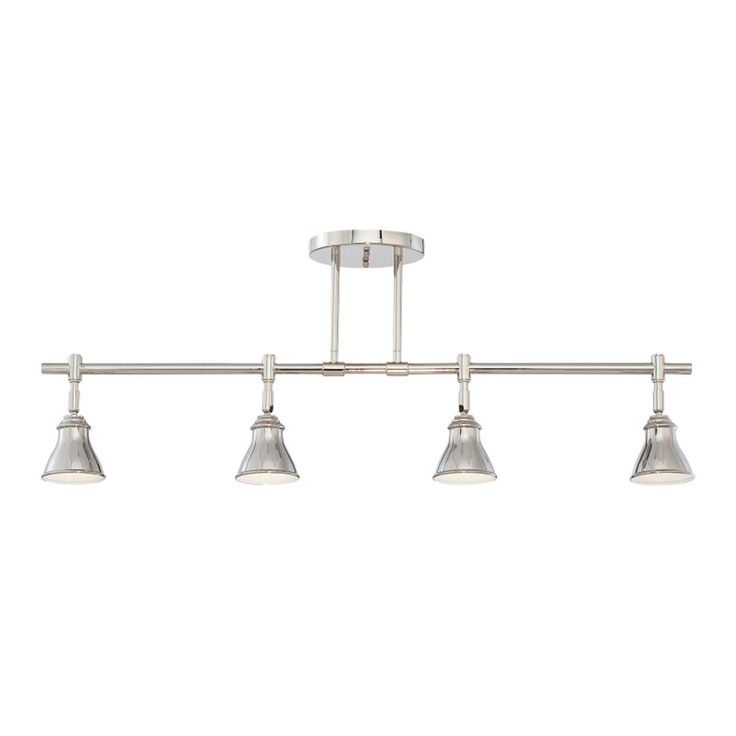 Industrial chic track light ceiling light for Industrial track lighting