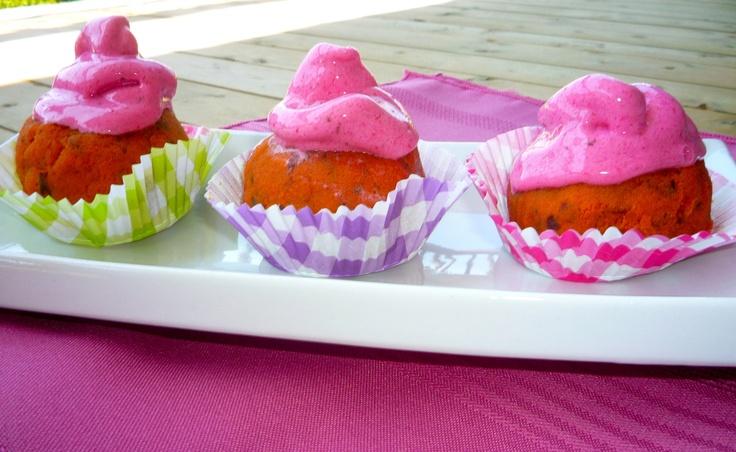 Raw Carrot Cake Cupcakes | Health/Recipes | Pinterest