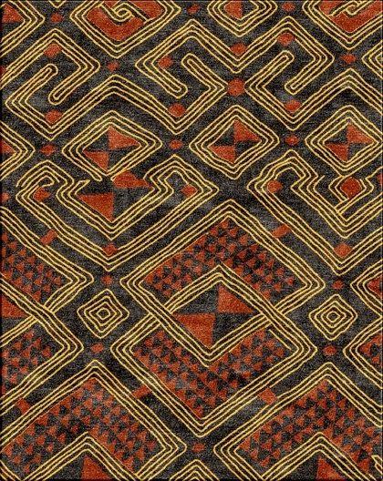 Kenyan Patterns Zion Star