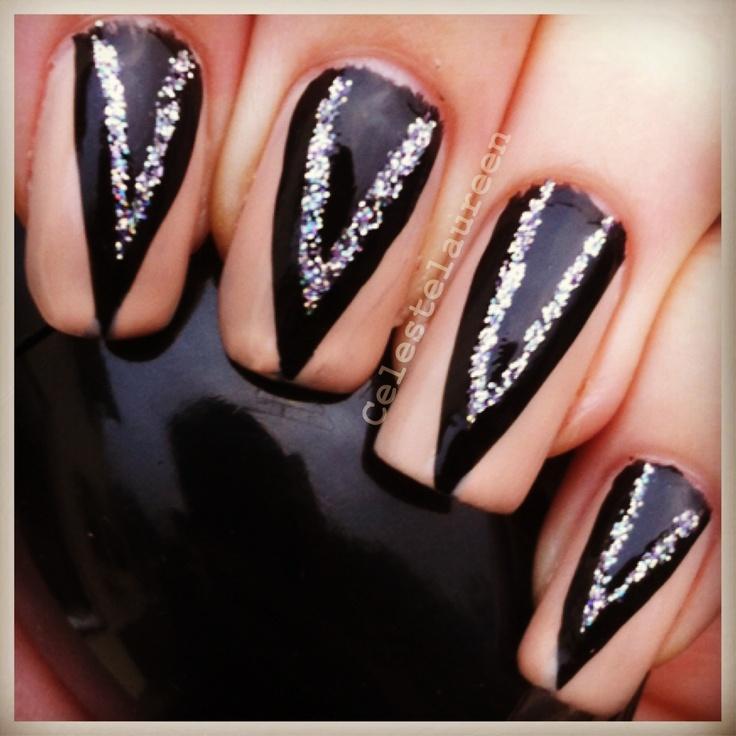 Evanora inspired nailsEvanora Nails