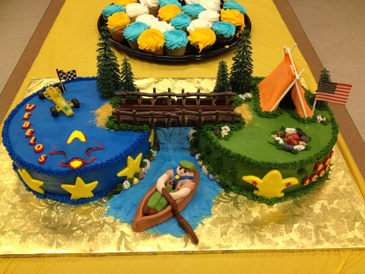 Boy Scouts Cakes Cake Ideas And Designs