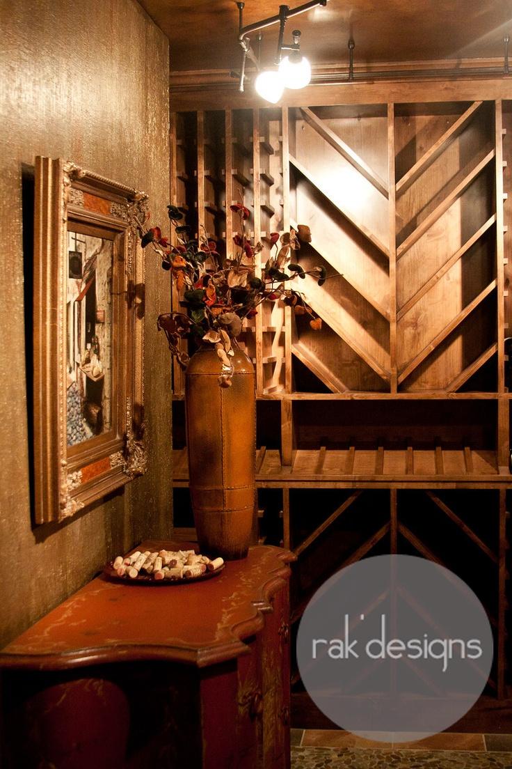 Wine Room Rak 39 Designs Wine Cellars Pinterest