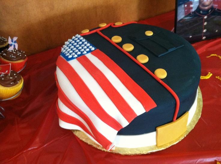 Usmc Birthday Cake Decorations
