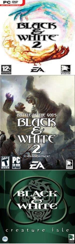 Black and White 2 + Expansions