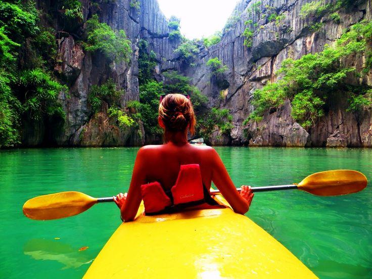 kayak đảo ngọc Cát Bà